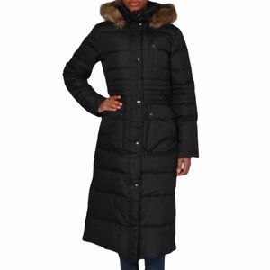 DKNY Down Filled Full Length Puffer Jacket Parka